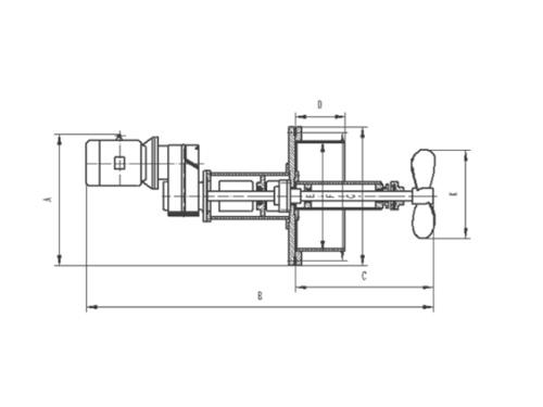 FA型侧向插入式搅拌机